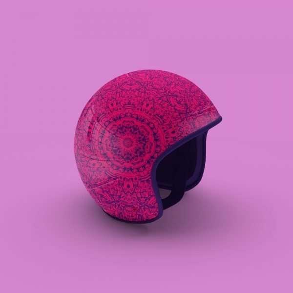 Concept Motorcycle Moped Bike Helmet